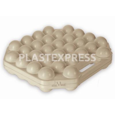 30 db-os tojástartó - Bézs
