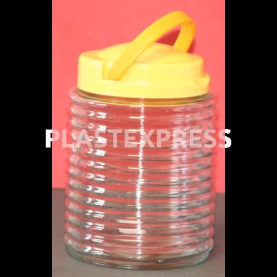 1.7 L-es bordás üveg