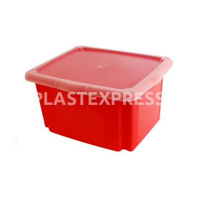 Forgatható tároló doboz tetővel