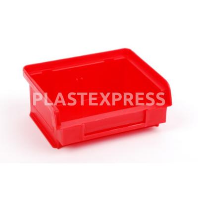 Csavaros box 9x10x5,5 cm 1. méret - Piros
