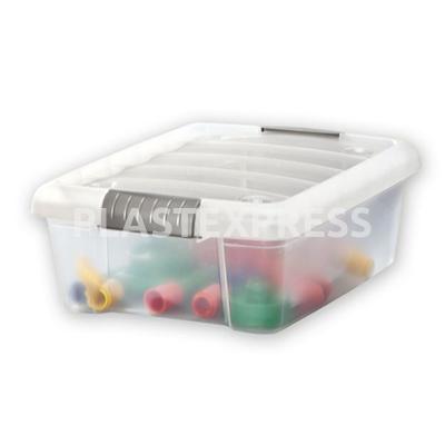 Csatos tároló doboz Kicsi (10 L) - Natur
